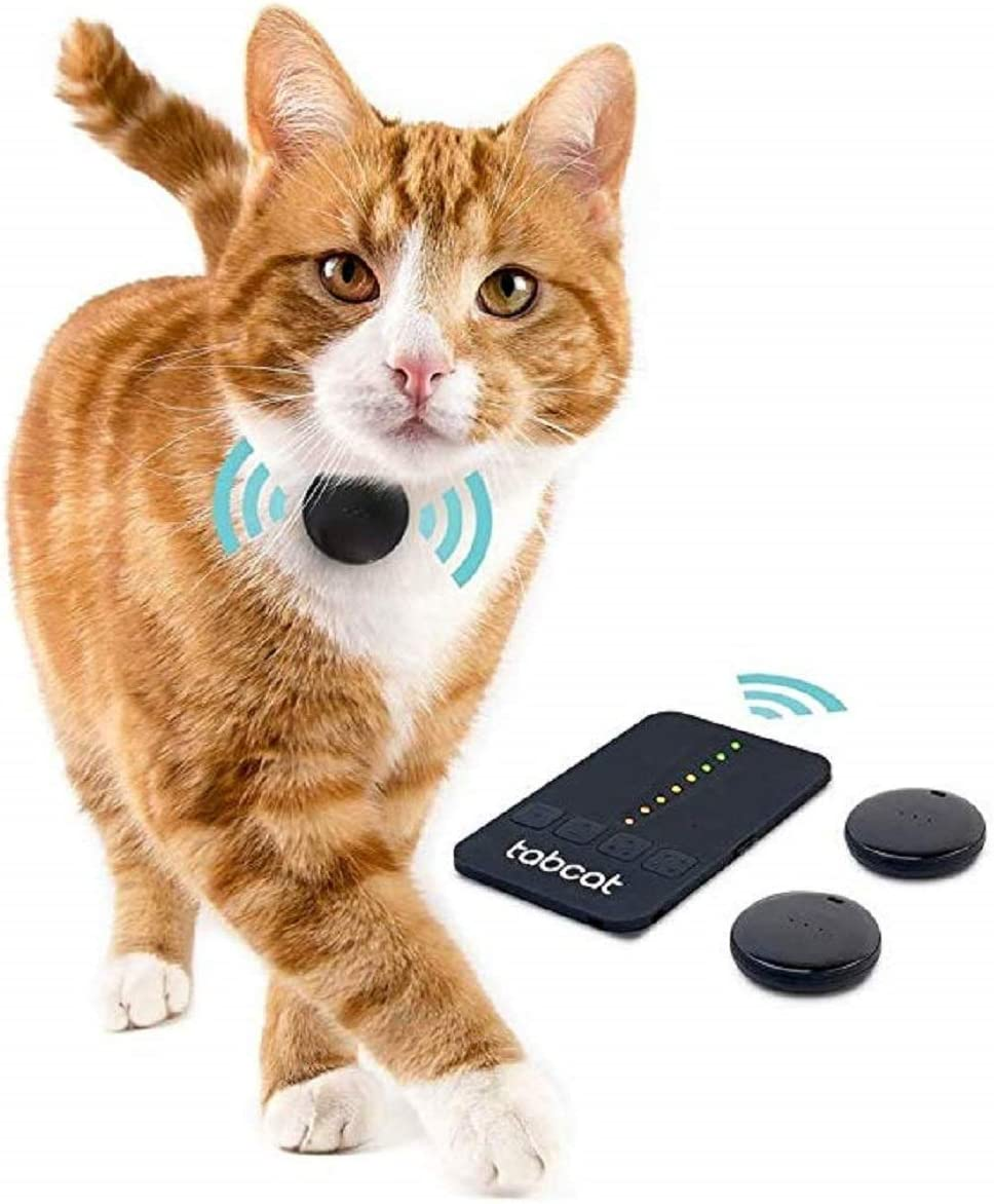 Loc8tor Pet Tracker | Tracking Cat Collar | Pet Tracking System | RF Tracking & Activity Monitor | No Monthly Fees | Cat & Dog Pet Finder | Includes 2 ...