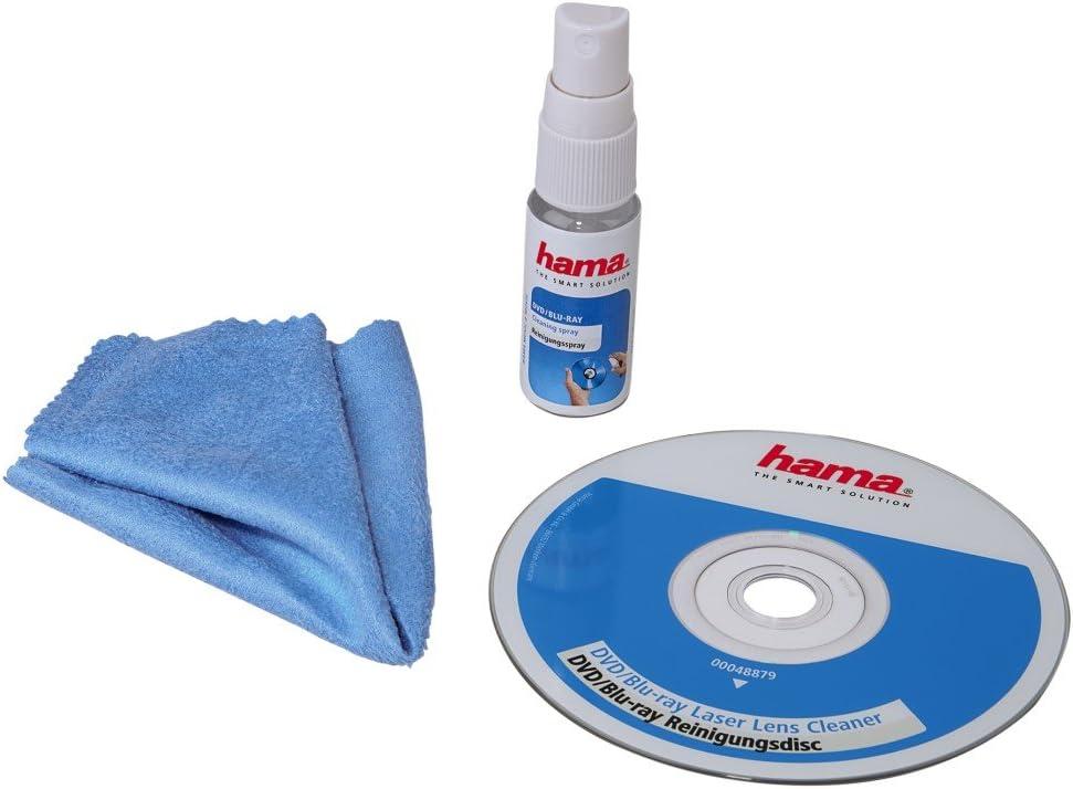 Hama Dvd Und Blu Ray Reinigungsset 3 Teiliges Computer Zubehör