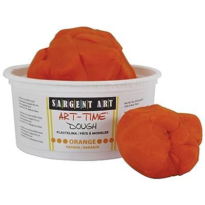 Sargent Art 85-3114 1-Pound Art-Time Dough, Orange: Arts, Crafts & Sewing