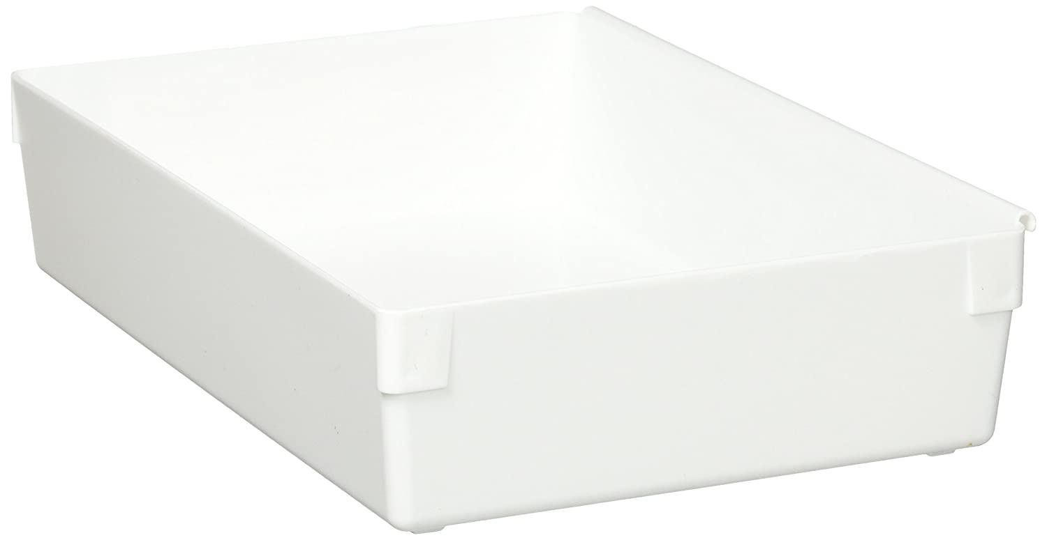 Rubbermaid Drawer Organizer, 9 by 6 by 2-Inch, White (FG2916RDWHT)