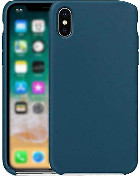 Coque en Silicone pour iPhone 7 8 Plus avec Logo pour iPhone X 6S ...
