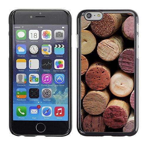 "Premio Sottile Slim Cassa Custodia Case Cover Shell // V00001994 vin de Cork // Apple iPhone 6 6S 6G 4.7"""
