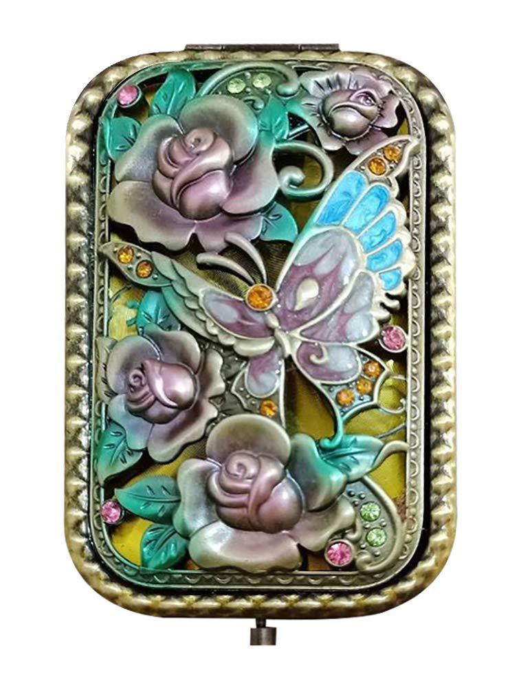 Amazon.com: Nerien - Espejo de viaje portátil con diseño de ...