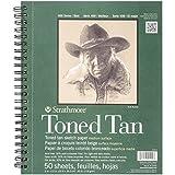 Strathmore 412-9 Tan Drawing 400 Series Toned