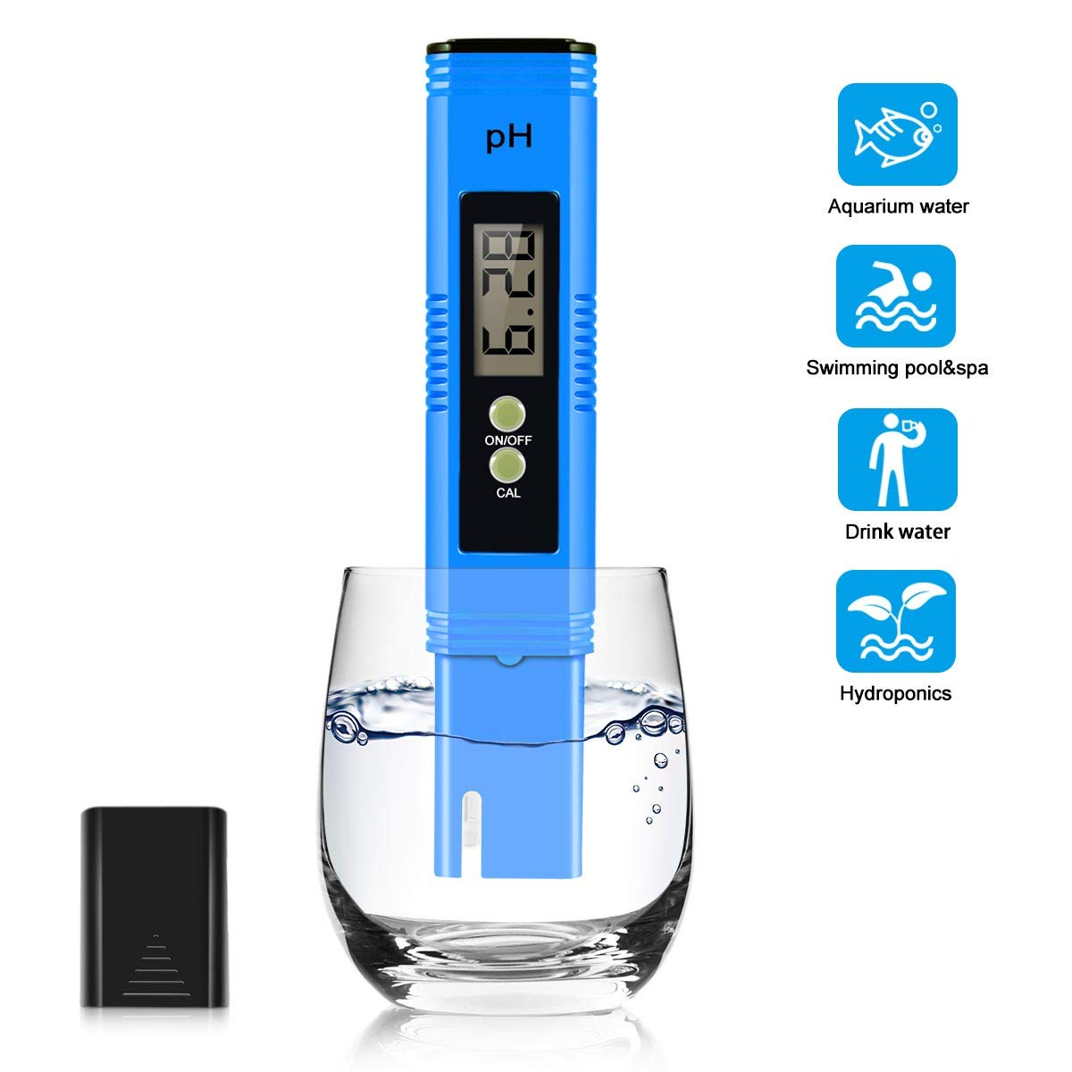 Digital pH Meter Quality Tester for Household Drinking Water Aquarium Hydroponic