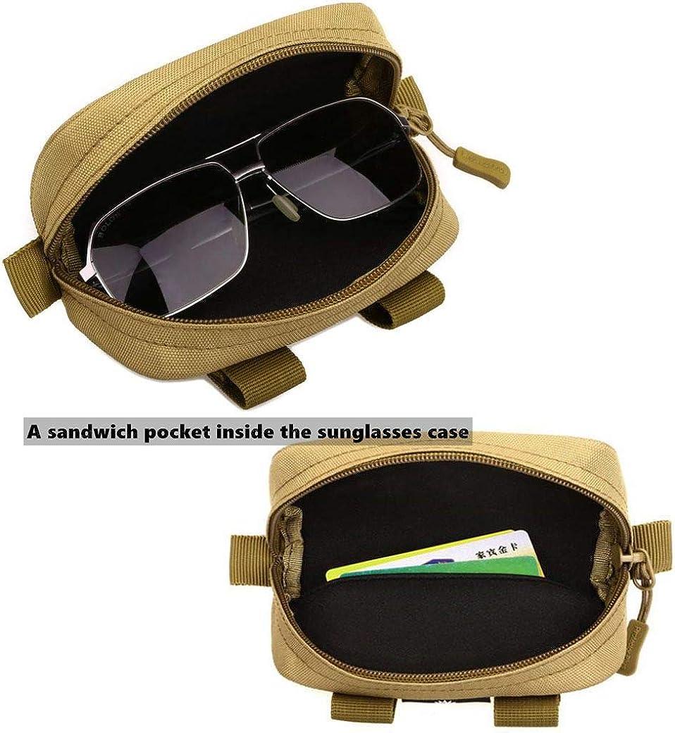 estampado de gato estuche para gafas de sol caja de pl/ástico con pa/ño de limpieza para gafas Art-Strap Funda r/ígida para gafas