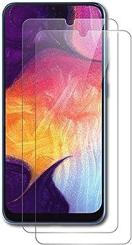 AICEK [2-Pack Protector de Pantalla Samsung Galaxy A30 / Samsung ...