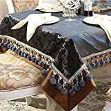 DIDIDD Garden Tablecloth Fabric Table Cloth Covering Cloth Table Cloth Table Cloth,C,145x180cm(57x71inch)