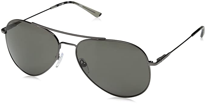 736c7c5fe7 Image Unavailable. Image not available for. Color  Calvin Klein Ck18105s Aviator  Sunglasses ...