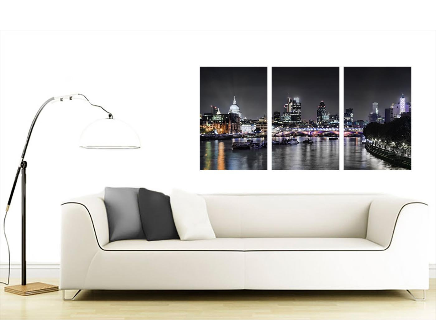 Cheap London Skyline Canvas Art Panel For Your Living Room