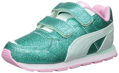 59ced844 PUMA Girls' Vista Glitz V Sneaker