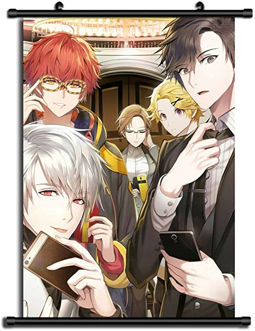 Mystic Messenger Unknown Anime HD Canvas Wall Poster Scroll Home Decor Cosplay