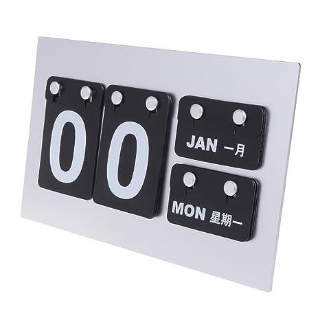 Calendario Perpetuo Da Parete.Cuigu Calendario Perpetuo Moderno Calendario Da Parete Da
