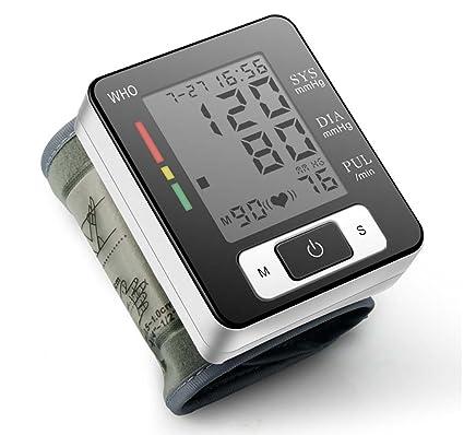 zrjnbpm Microcomputadora BPM muñeca estilo de Tensiómetro electrónico automático presupuesto inteligente electrónica esfigmomanómetro Precisión para médicos