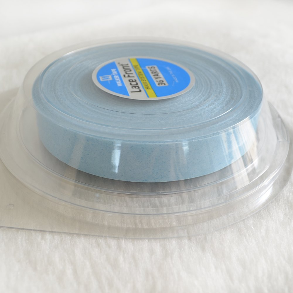 """AIRAO""""Lace Front"""" WalkerTape Bonding Tape Adhesive for Toupee Wig Hairpiece Hair Extensions 1pc(36 Yards Length & 3/4 Inch(1.91cm) Width)"""