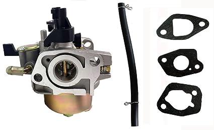 hooai nuevo carburador + Ajuste de juntas para Honda hr194 HR214 ...