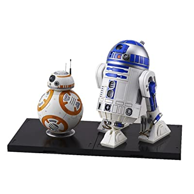 "Bandai Hobby Star Wars 1/12 Plastic Model BB-8 & R2-D2 ""Star Wars"": Toys & Games"