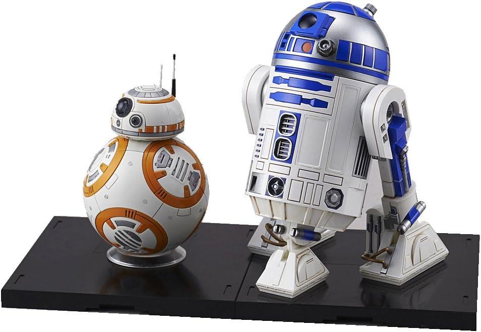 Amazon Com Bandai Hobby Star Wars 1 12 Plastic Model Bb 8 R2 D2 Star Wars Toys Games