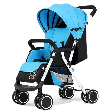 LIU UK Baby Stroller Cochecito de bebé, Carro de bebé Ligero ...
