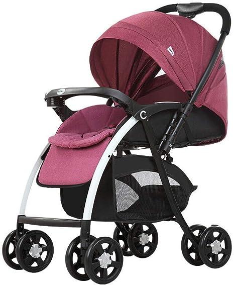 Opinión sobre Cochecito ultraligero con rodamiento máximo de 25 kg, plegable, ideal para bebés de 0 a 3 años.