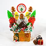 Gingerbread House Lollipop Bouquet