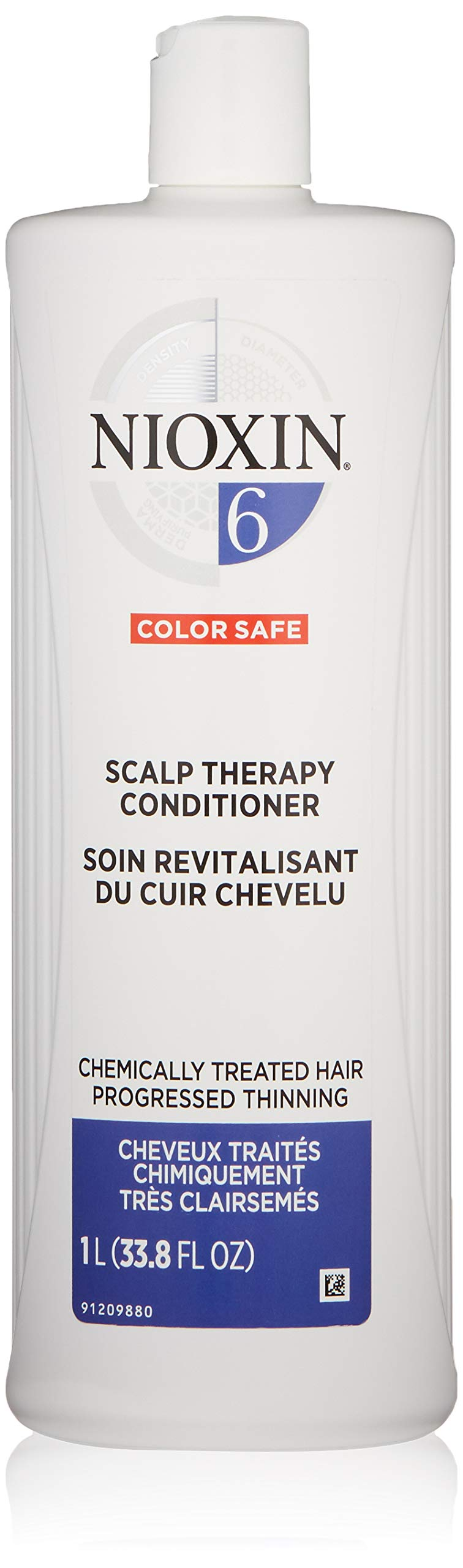 Nioxin Scalp Therapy Conditioner for Medium or Coarse Hair System 6 Natural Hair, 33.8 Ounce