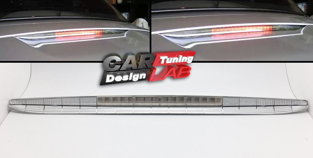 Parte trasera transparente LED 3rd tercera Stop luz de freno Lá mpara para 1996 –  2004 986 Boxster CarLab
