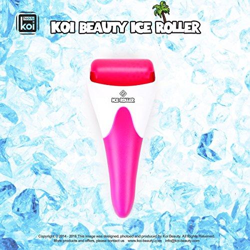 Haut Kühlung Ice Roller für Gesicht, Körper Haut erfrischend und Verjüngung von Koi Beauty Farbe Pink