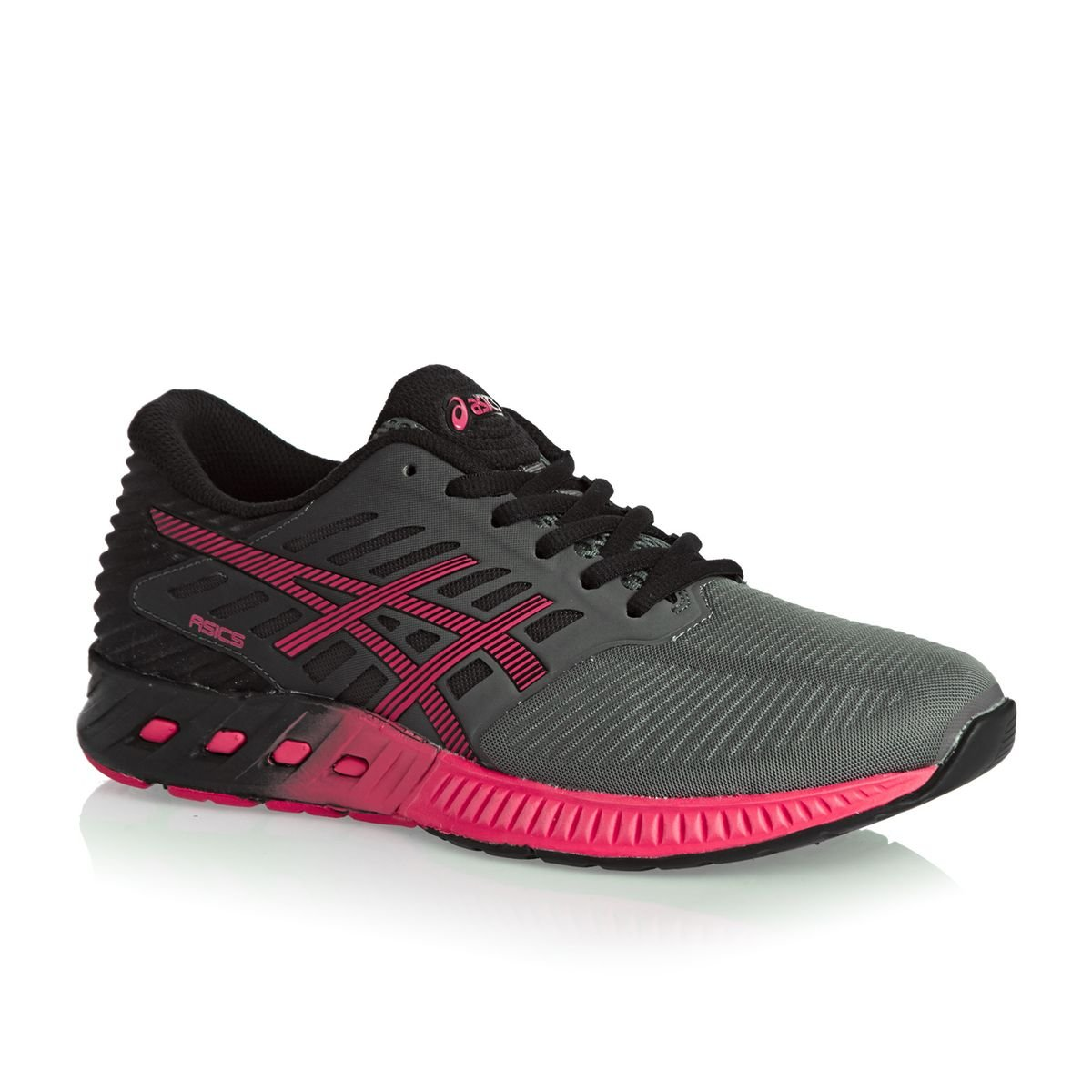 Asics Fuzex T689n, Zapatillas de Running para Mujer 39 EU|Titanium/Azalea/Black