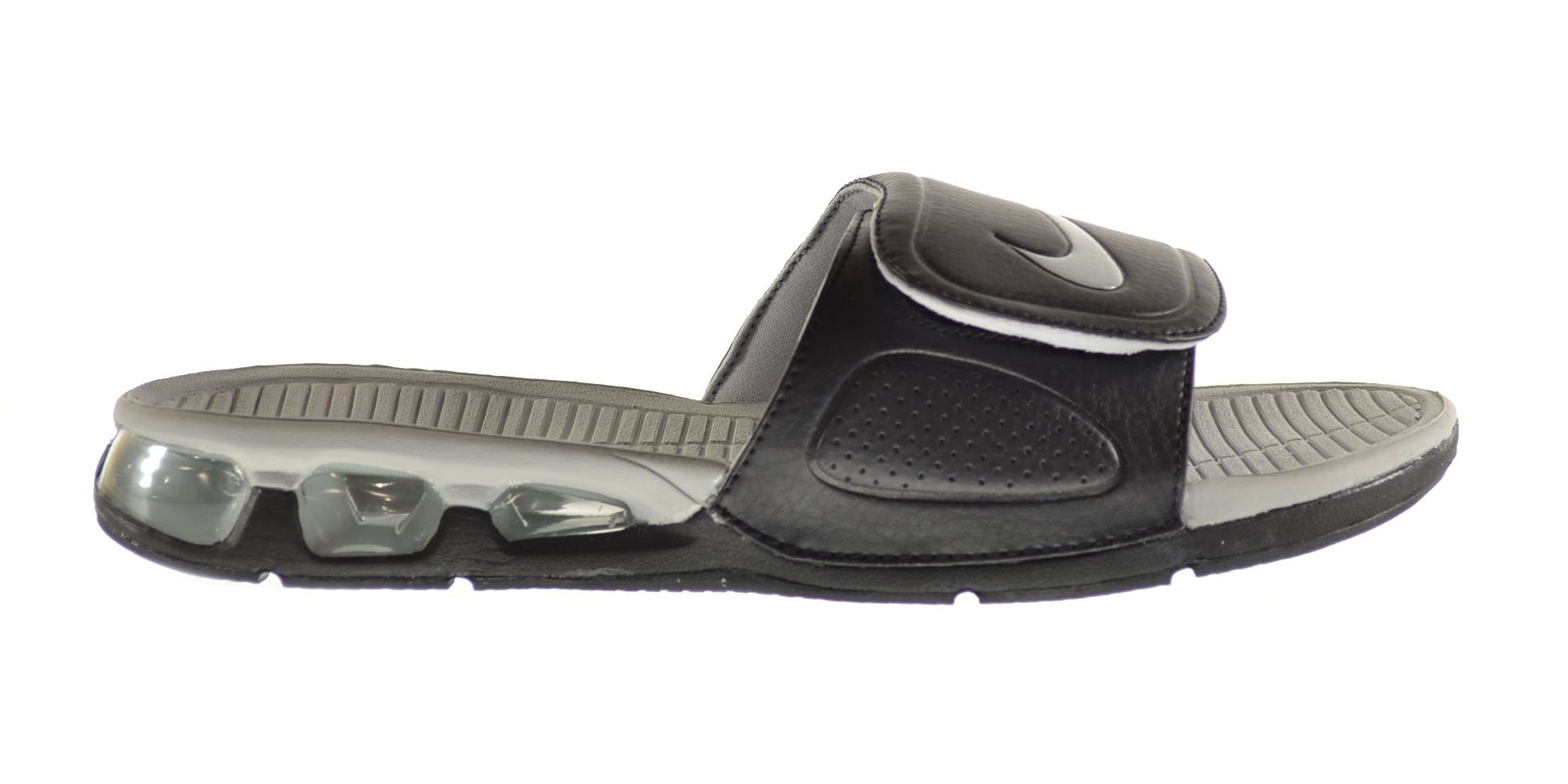 the latest 5dc97 b3a0d ... greece galleon nike air experience mens slides black wolf grey wolf  grey white 487331 001 12