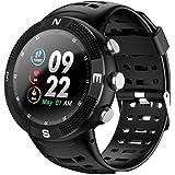 SmartWatch Actividad Física Y Monitor De Ritmo Cámara Bluetooth Perseguidor Corazón Dormir Reloj Inteligente SmartWatch Para DTNO.I NO.1 F18 IP68 A Prueba De Agua Recordatorio Deporte Bluetooth 4.2 GP