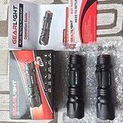 Amazon.com: GearLight M3 LED Tactical Flashlight [2 PACK
