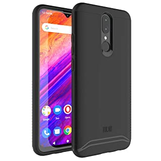 TUDIA BLU G9 Case, [Merge Series] Heavy Duty Extreme Dual Layer Slim Precise Cutouts Phone Case for BLU G9 (Matte Black)
