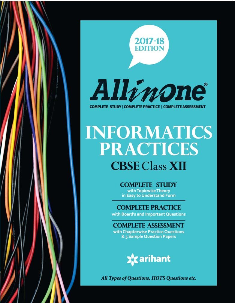 Poster design class 12 - All In One Informatics Practices Cbse For Class 12 2017 18 Amazon In R Umesh Kumar Books