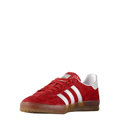 adidas Junior BOY Sneaker Shoes RED Suede Code S75379 Gazelle Indoor 36 F -  4 USA - 3 ab667dc4355b
