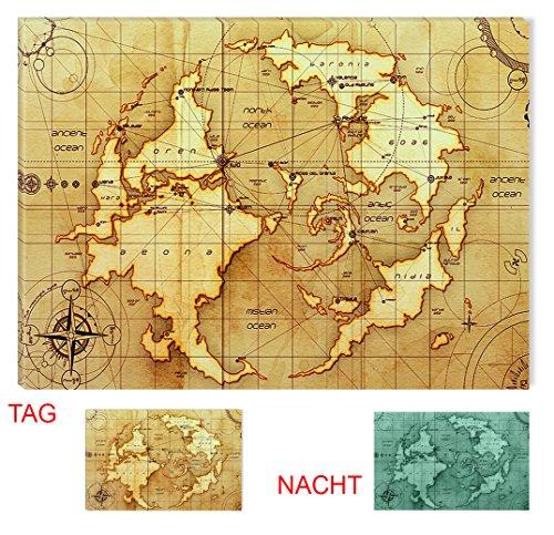 Startonight wall art canvas ancient world map vintage usa design startonight wall art canvas ancient world map vintage usa design for home decor gumiabroncs Images