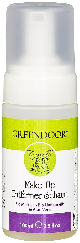 Greendoor Make-Up Entferner Schaum - mit Bio Melisse, Aloe Vera und Bio Hamamelis, ohne Parabene, ohne Konservierungsmittel, Naturkosmetik