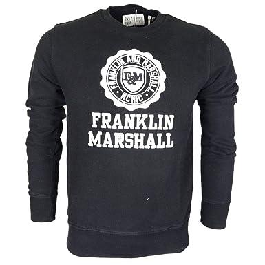 Franklin & Marshall - Sudadera - para Hombre Negro Negro (L