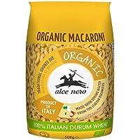 Alce Nero Organic Macaroni Pasta   Authentic Italian Pasta Taste & Texture   Made with Organic Italian Durum Wheat Flour…