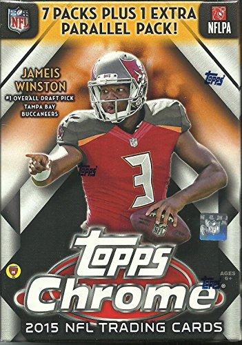 NFL 2015 Chrome Football Cards Trading Card Blaster (Manning Nfl Duke Football)
