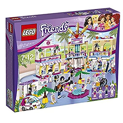 LEGO Friends Girls Heartlake Shopping Mall Kids Building Set | 41058: Toys & Games