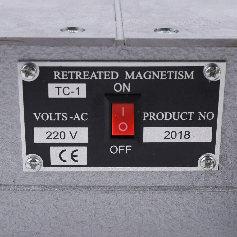 TC-1 Platform Demagnetization Degaussing Machine Demagnetizer Tool Heavy Duty Desktop Demagnetizatio