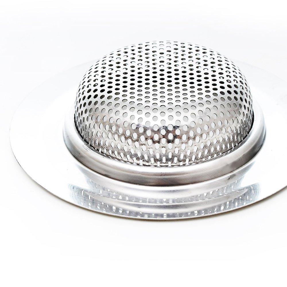 3 Pack Sink Hole copertina carrello di 4.3 diametro per casa Bagno Cucina Lavelli anti-intasamento e ruggine-libera e corrosione libera Senhai cucina in acciaio inossidabile Sink Filtri