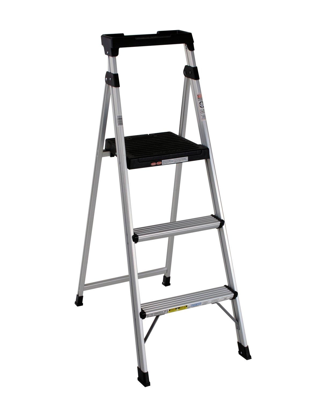 aluminium step ladder. Cosco 20-552ABL Lite Solution Aluminum Step Ladder, 5-Foot - Amazon.com Aluminium Ladder 1
