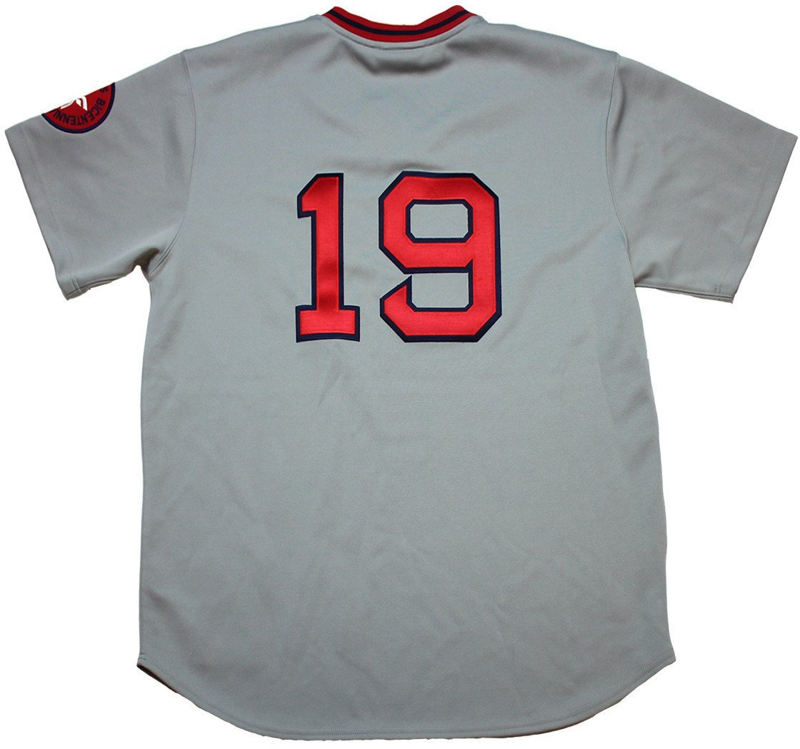 Amazon.com  Fred Lynn Boston Red Sox Authentic Gray Away Jersey Uns  (Mitchell   Ness)  Sports Collectibles bbbfee8b202