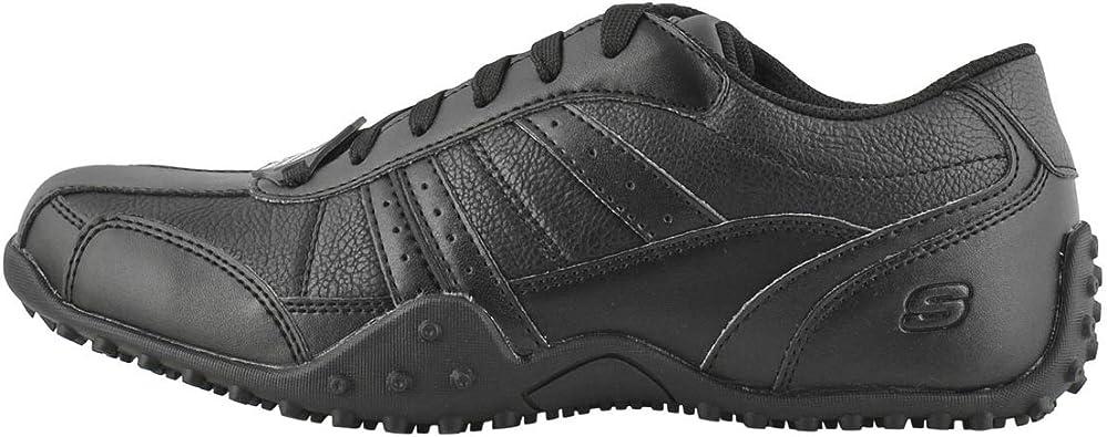 Elston Slip Resistant Work Shoe Black