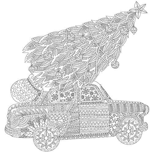 "Kaisercolour Coloring Poster 27""X19""-Home For Christmas"