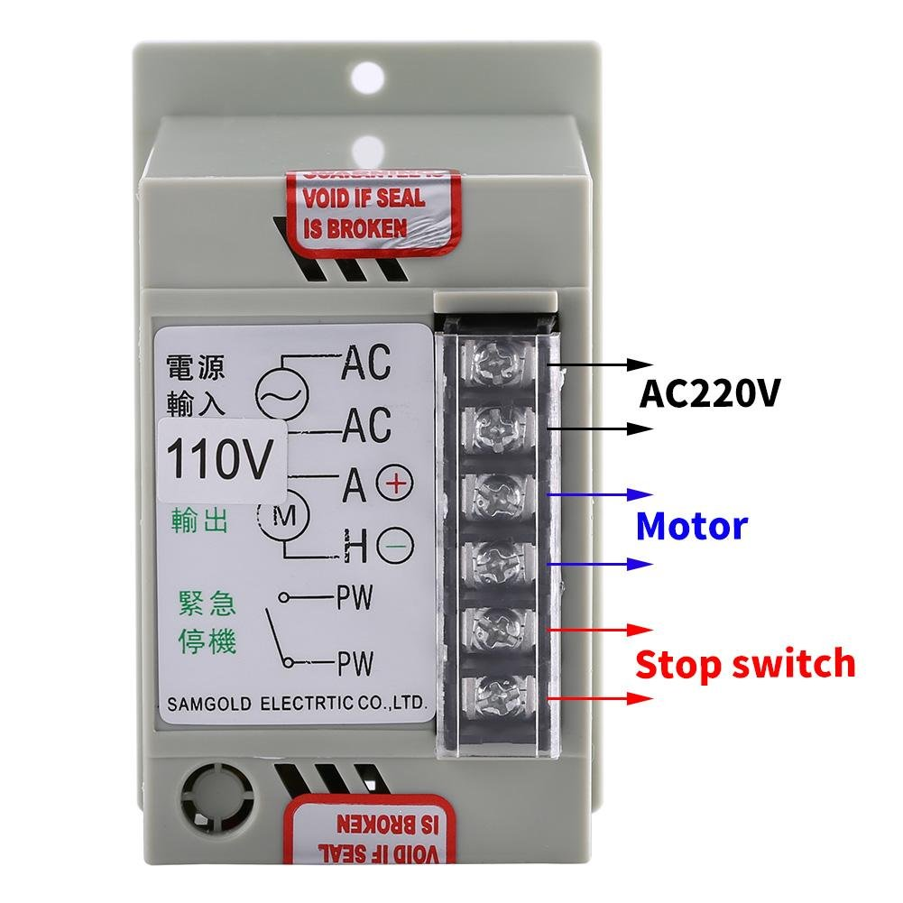 Ac 110v Input Dc 24v 90v Output Motor Speed Controller Switch Simple Bounceless Using Cd4049 Electronic Circuits Electric Regulator For Permanent Magnet 400w 51