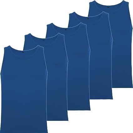 Camiseta Tirantes Hombre (Pack 5) para Verano Hacer Deporte ...