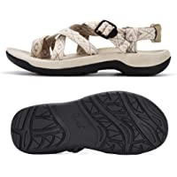 Viakix Hiking Sandals Women – Comfortable Athletic Stylish, for Hiking, Outdoors, Walking, Water, Sports